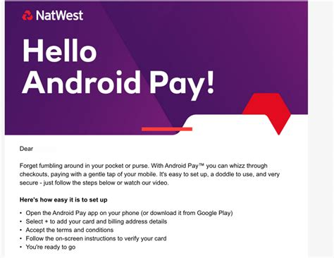 How Android Pay Works by Natwest Gets Abreast Of Android Pay Coolsmartphone