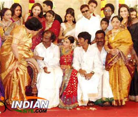 its all about cinema and more: actor dhanush wedding album