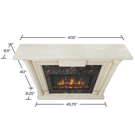 Maxwell Fireplaces by Real Maxwell Indoor Slim Electric Fireplace In
