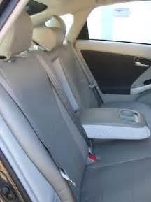 2010 toyota prius leatherette custom seat cover