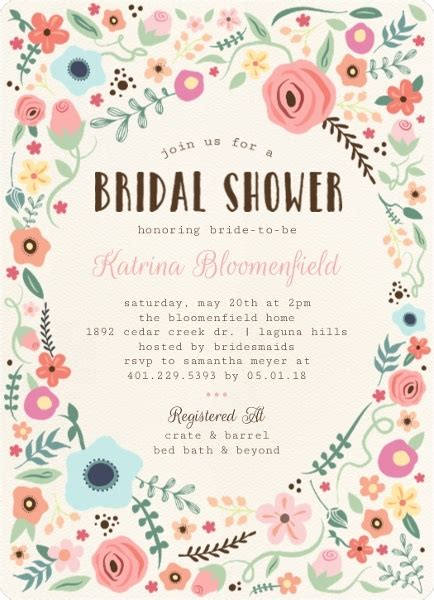 bridal shower theme invitations bridal shower themes nautical outdoor