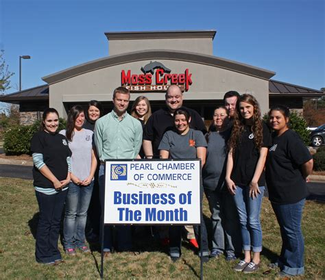 moss creek fish house business of the month pearl chamber of commerce