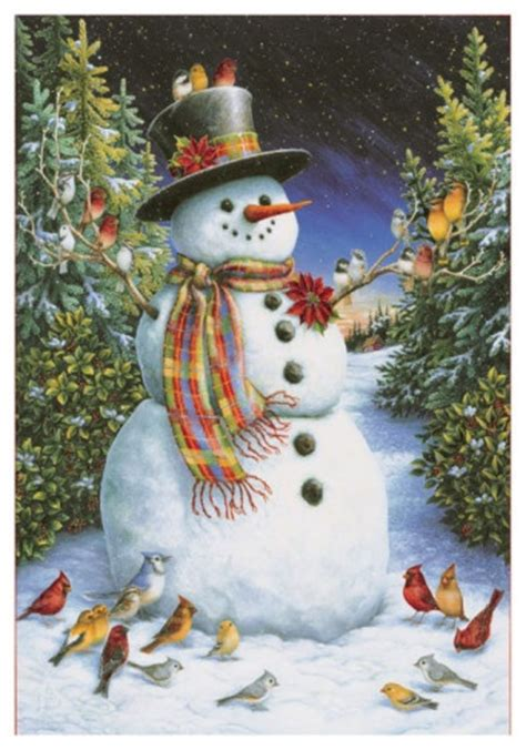 feathered friends  snowman pinterest happy