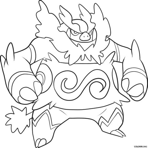 coloring pages pokemon tepig pok 233 mon emboar para colorir colorir org