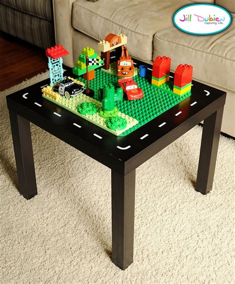 lego table diy ikea 15 cool diy tables from ikea kidsomania