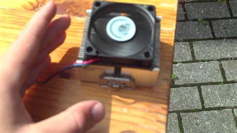 how to make a solar fan pc fan on 12v solar panel 6w 3500 4000 rpm youtube