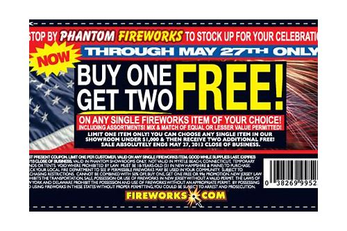 firework coupons 2018