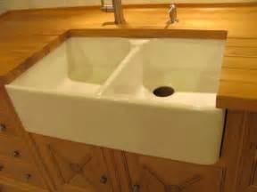 porcelain farmhouse sinks kitchen