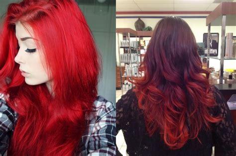 cortes de cabello 2016 en rojo y negro pelo rojo y negro related keywords pelo rojo y negro
