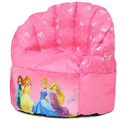 buy disney 174 princess bean bag chair from bed bath beyond