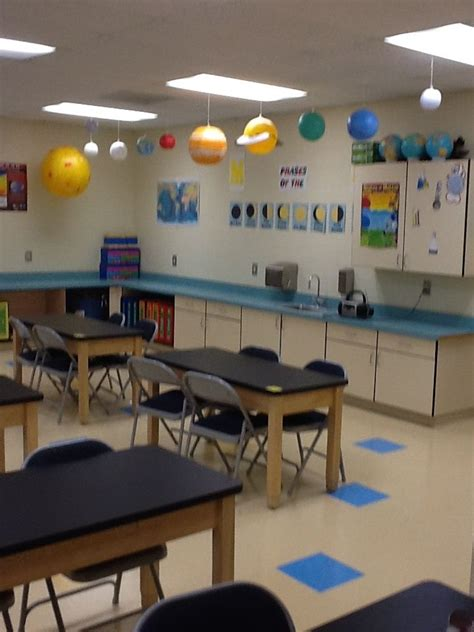 science room decor solar system display in classroom science classrooms should look inviting classroom