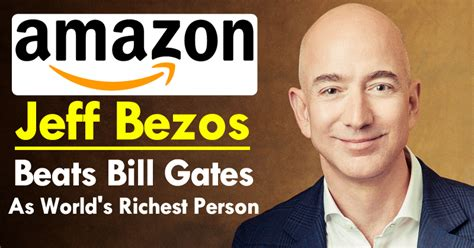 founder and ceo jeff bezos has become the richest in the world easter science