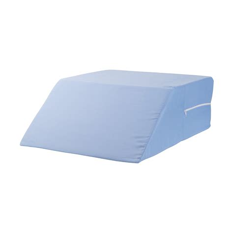 back wedge pillow for bed dmi ortho bed wedge supportive foam leg rest cushion