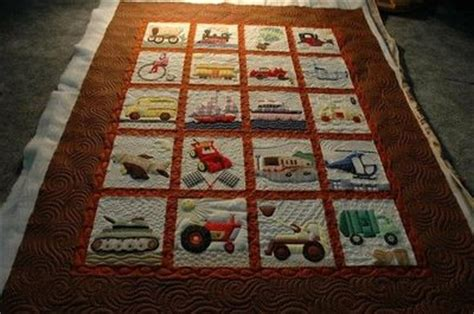Transportation Quilt Pattern by Transportation Quilt Pattern By Pam Bono I Made One Of