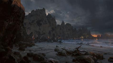 path  exile digital art video games coast wallpapers