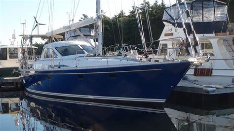 sailing boat yard refit trintella 47 great island boat yard