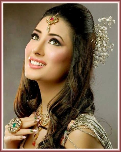 bridal hairstyles pakistani 2015 splendid ideas for wedding hairstyle for medium hairs