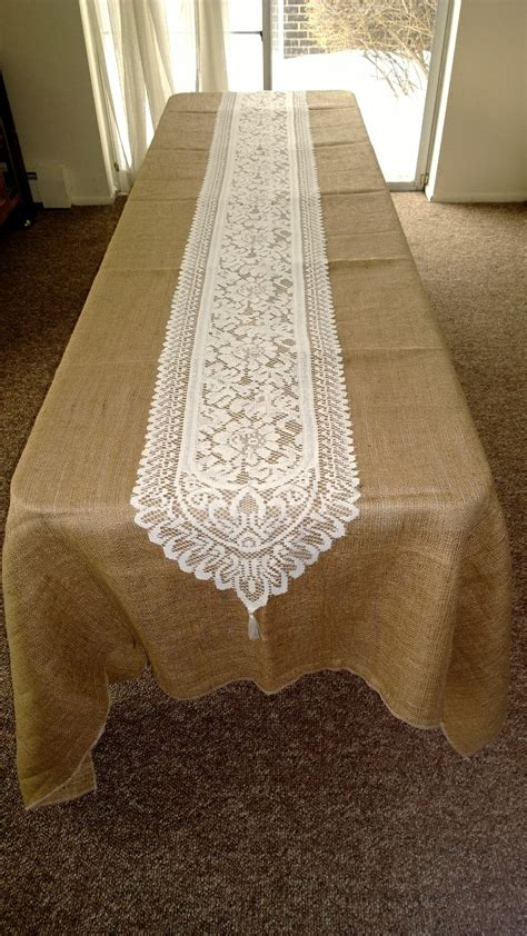 ivory lace runner lace runners burlapfabric com burlap for wedding