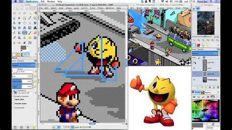 gimp making a grid gimp pixel art tool setup tutorial youtube