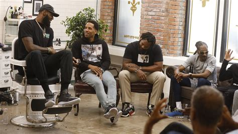 hollywood reporter news lebron lebron james barbershop set talk show picked up by hbo