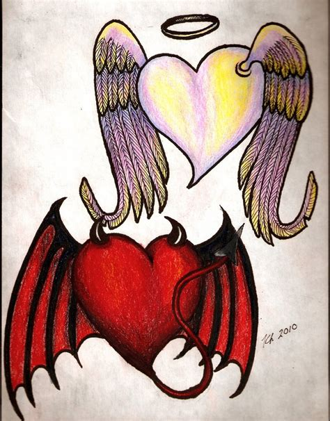 devil angel tattoo designs tattoos and designs page 67