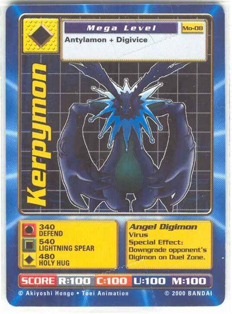 digimon battle card template cherubimon vice wikimon the 1 digimon wiki