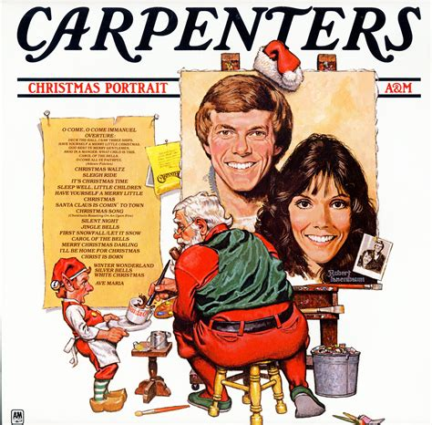 carpenters christmas portrait 1978 karen carpenter