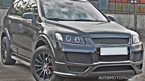 chevrolet captiva modified chevrolet captiva custom grill