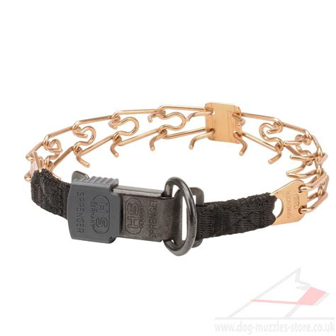 sport collar prong collar with buckle hs sport collar 163 30 15