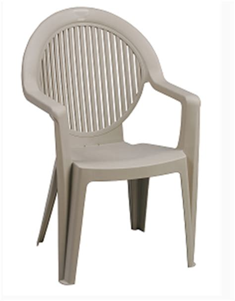 High Back Plastic Patio Chairs White Plastic Highback Patio Chairs Modern Patio Outdoor