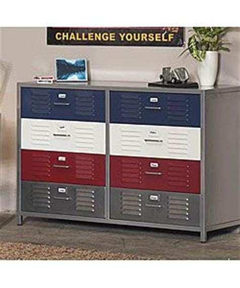 locker style dresser boy s locker 8 drawer dresser boys style and design