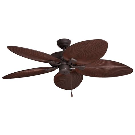 Fans Tortola 52 In Outdoor Bronze Ceiling Fan