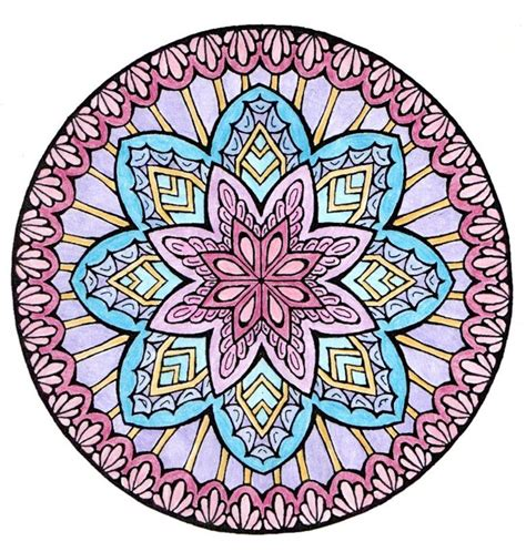 mystical mandala coloring pages free 17 best images about мандалы on dovers book