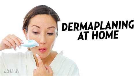 dermaplaning at home dermaflash and tinkle razor