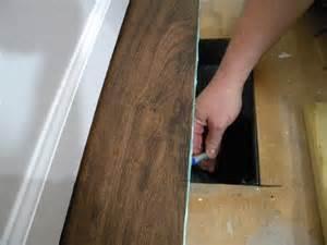 diy install vinyl plank flooring we call it junkin