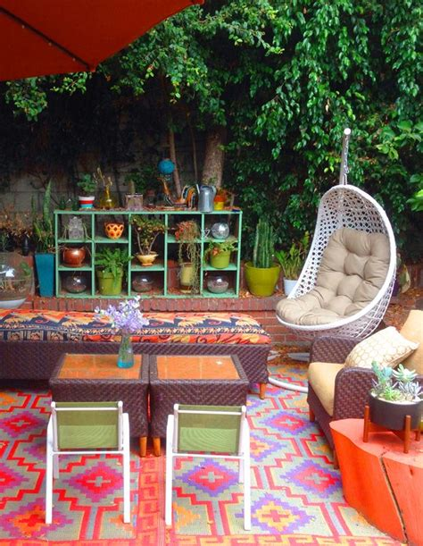 17 beauty bohemian patio designs top easy decor project