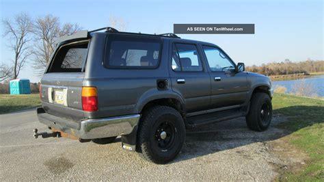 1995 Toyota 4runner 1995 Toyota 4runner Sr5 4cyl 5 Speed Reman Motor