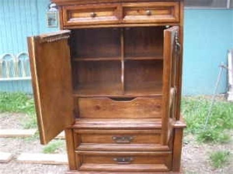 mens armoire magnificent mens lrg wardrobe chest armoire dresser oak in auburn wa 98001