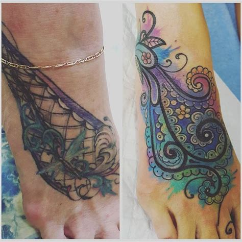 ankle tattoo cover ups cover up for foot tattoos