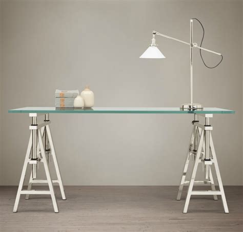 Restoration Hardware Sawhorse Desk by Industrial Design Finds From Furniture To Accessories
