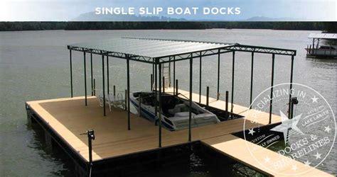 single slip boat dock single slip boat docks boat dock works