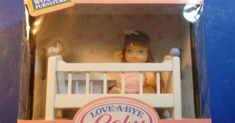Bye Bye Baby Cribs 1987 A Bye Baby And Crib By Hasbro 4588 Nrfb Vintage Hasbro A Bye Baby Doll W Crib