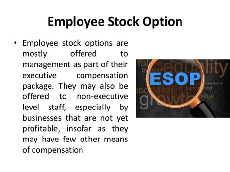 Tesla Stock Options For Employees Stock Options Given To Employees As Part Of A Compensation