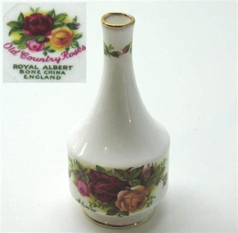 Royal Albert Country Roses Vase by Bud Vase Royal Albert Country Roses Royal Albert