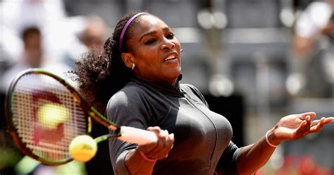Serena Williams Pooch On The Mound by Serena Williams Recovers From Sickness After