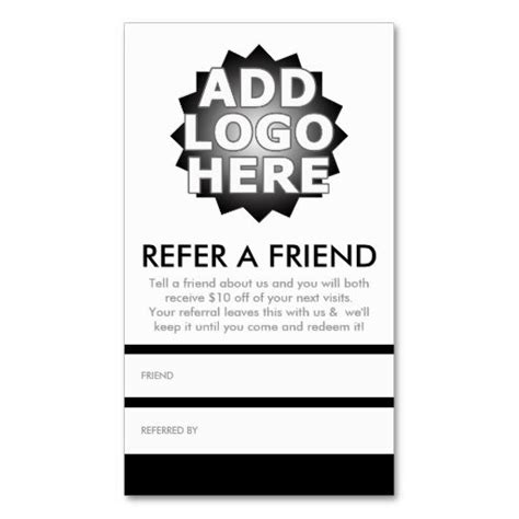 refer a friend coupon template 1000 images about coupon card templates on