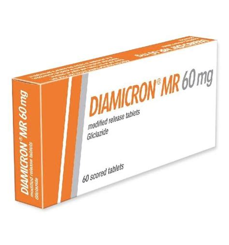 diamicron mr 60 mg dosage information mims