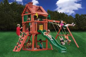 Childrens Wooden Swing Sets Lowest Price Gorilla Nantucket Playset Swingset Paradise