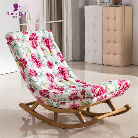 living room rocking chair aliexpress com buy vintage rocking chair fabric