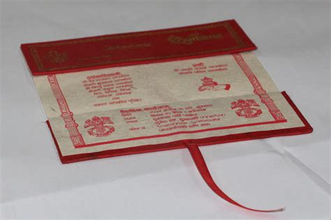 Wedding Invitation Card In Nepali by Card Nepali Wedding Card